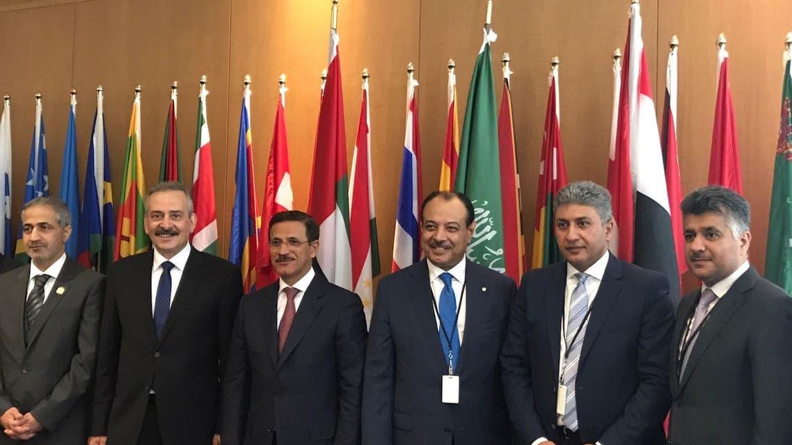 وزراء الطيران المشاركين في جلسة الإيكاو
