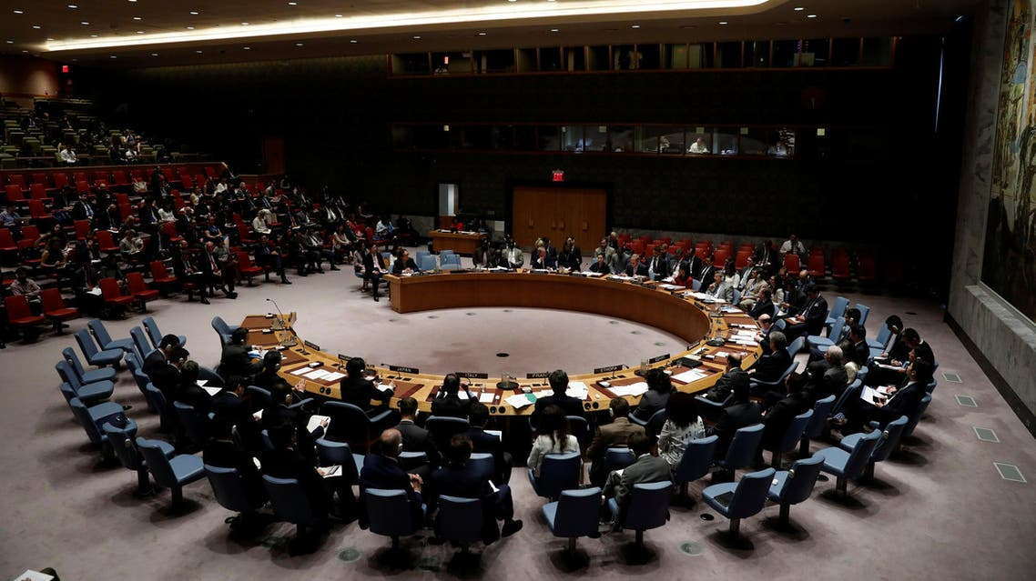 The United Nations Security Council meets to discuss the recent ballistic missile launch by North Korea at U.N. headquarters in New York, U.S., July 5, 2017. REUTERS/Mike Segar