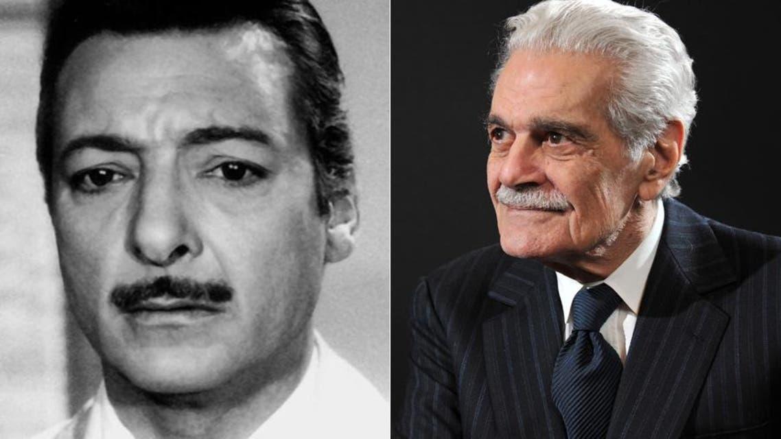 عمر الشريف ورشدي