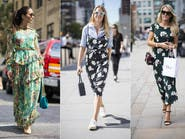 هكذا تختارين ثوبك الصيفي المطبع بالورود