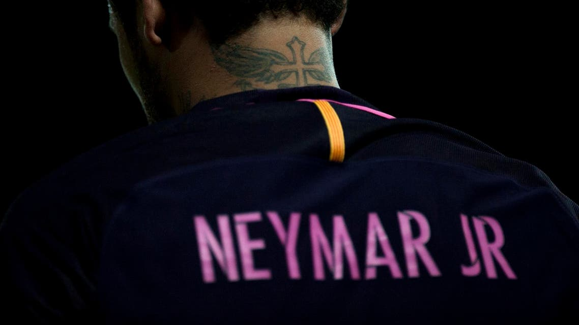 Neymar is expected to finalise his world record 222 million euro transfer. (AFP)