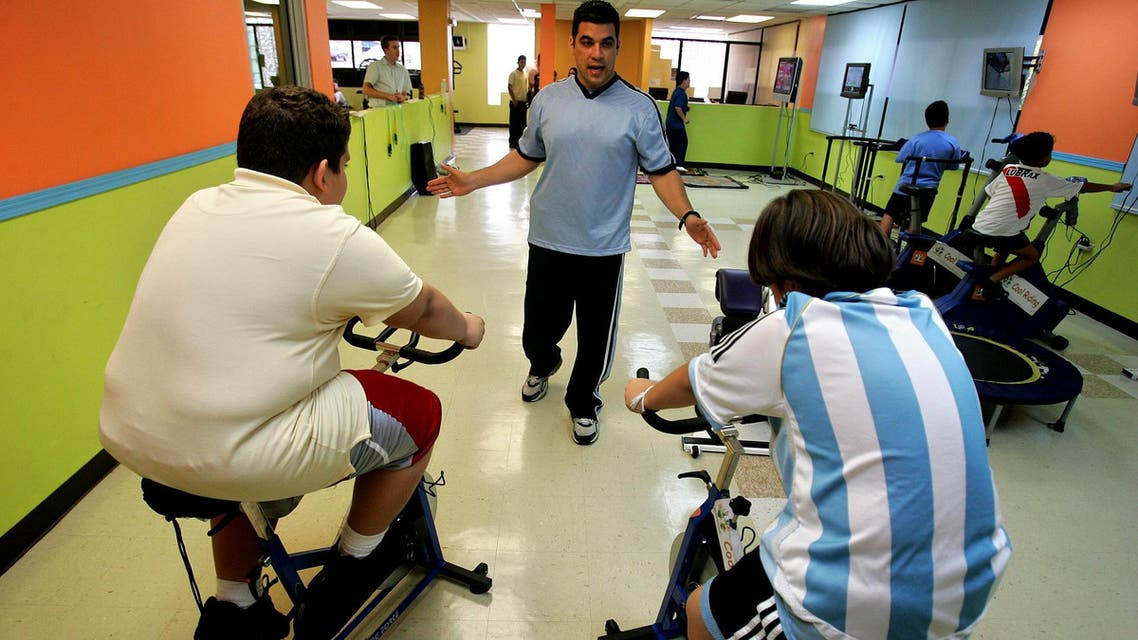 The main cause of obesity in children is intake of large meals, soft drinks, energy imbalance, screen time, limiting physical time. (AP)
