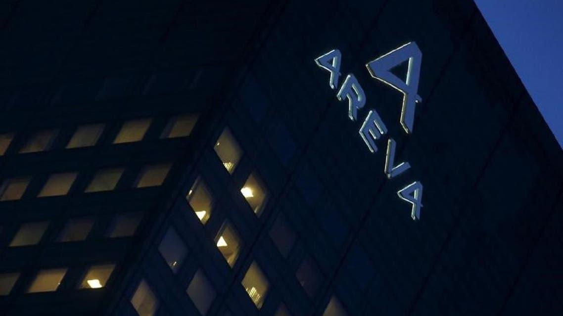 French company Areva logo on the company's headquarters in Paris. (Reuters)