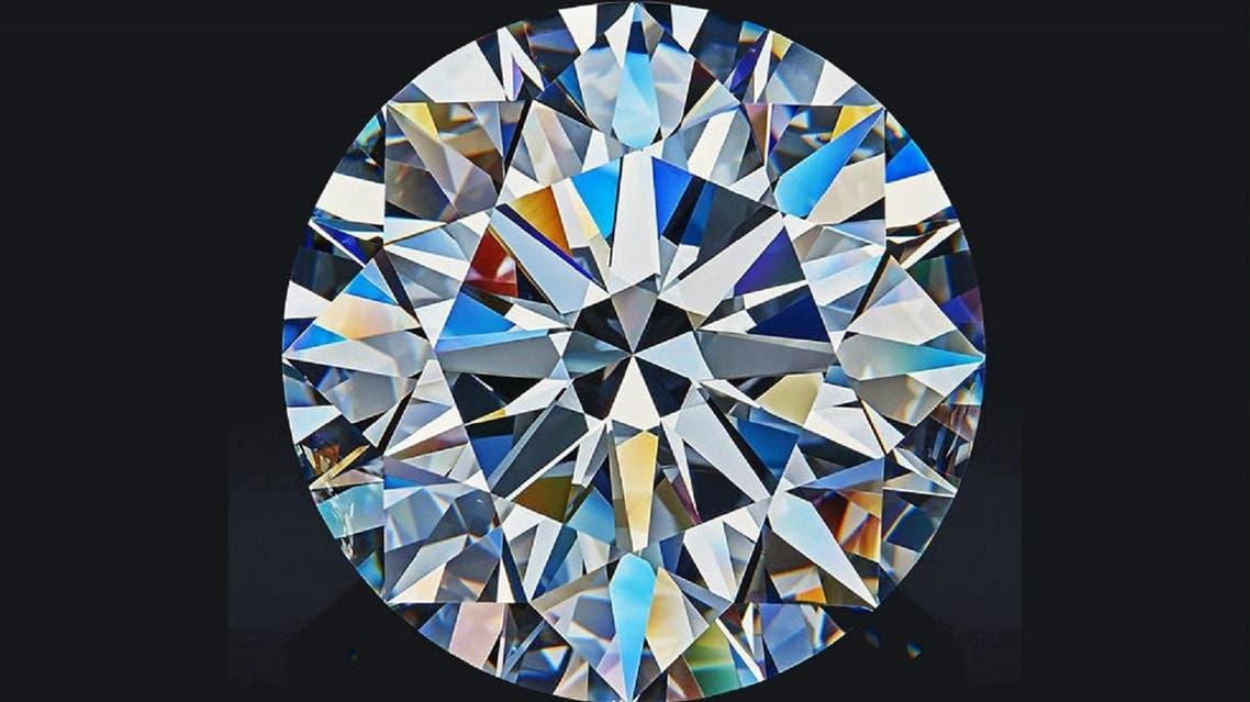 The Dynasty diamond, a 51.38-carat traditional round brilliant-cut diamond (Photo courtesy: Alrosa)