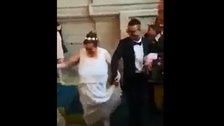 Video of Moroccan man marrying elderly French woman lights up social media