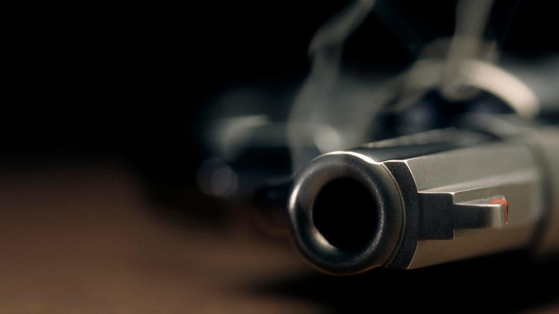 قتل مسدس