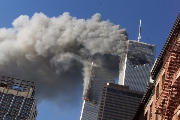 Sept. 11, 2001. (File photo: AP)
