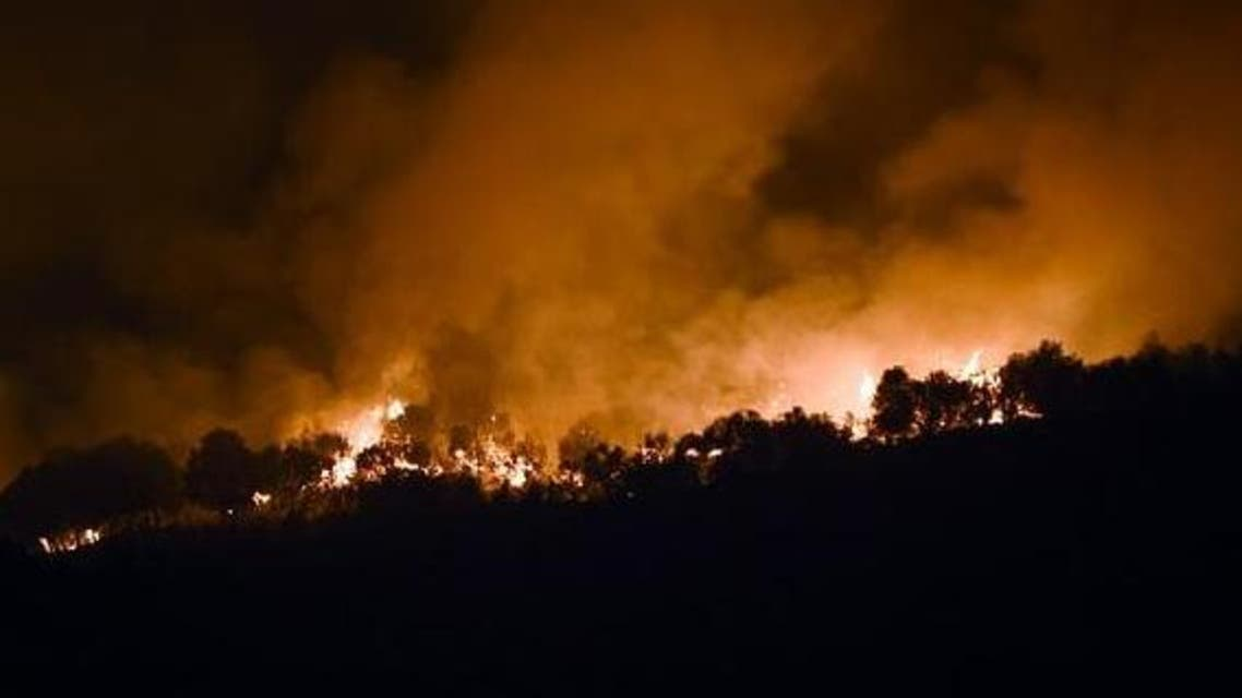 TUNISIA FIRES AFP