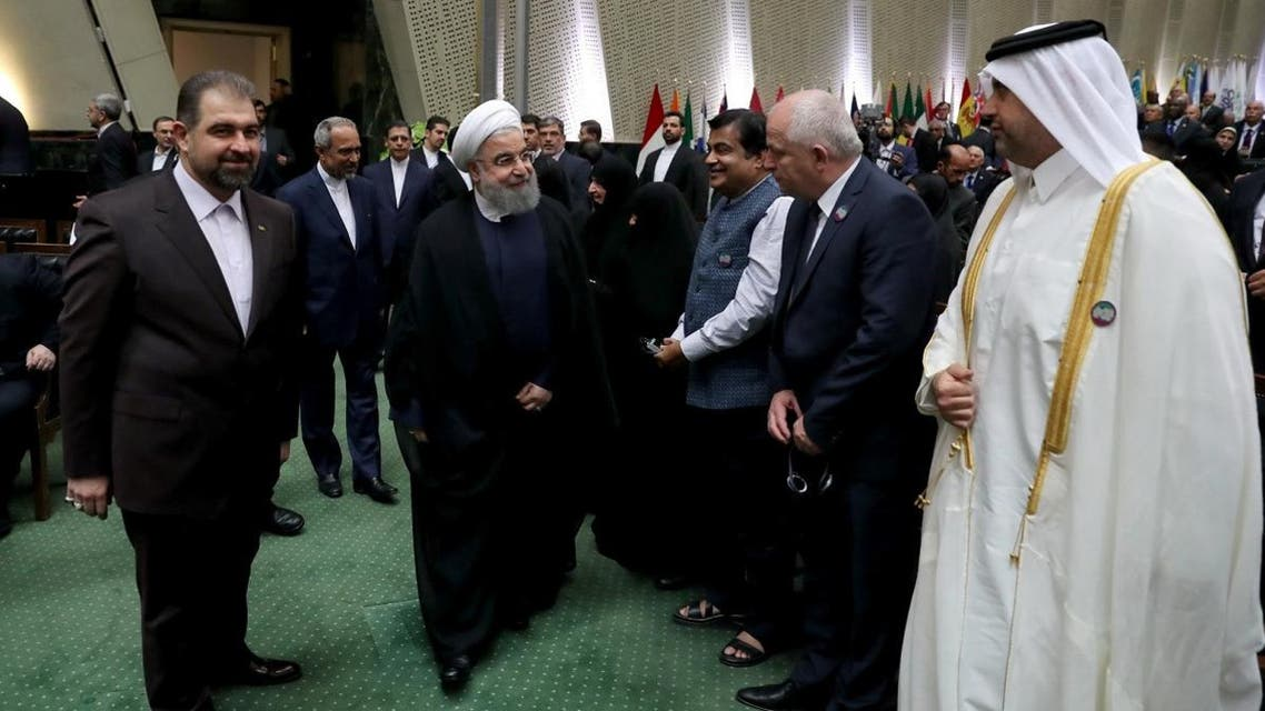 قطر تشارك في مراسم أداء الرئيس الإيراني اليمين