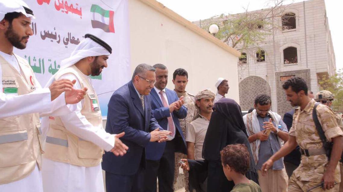 رئيس وزراء اليمن في المخا