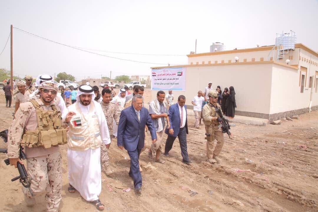 Yemeni Prime Minister Ahmed Obeid bin Daghr