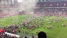 WATCH: Fans brawl on pitch as Konyaspor win Turkish Super Cup