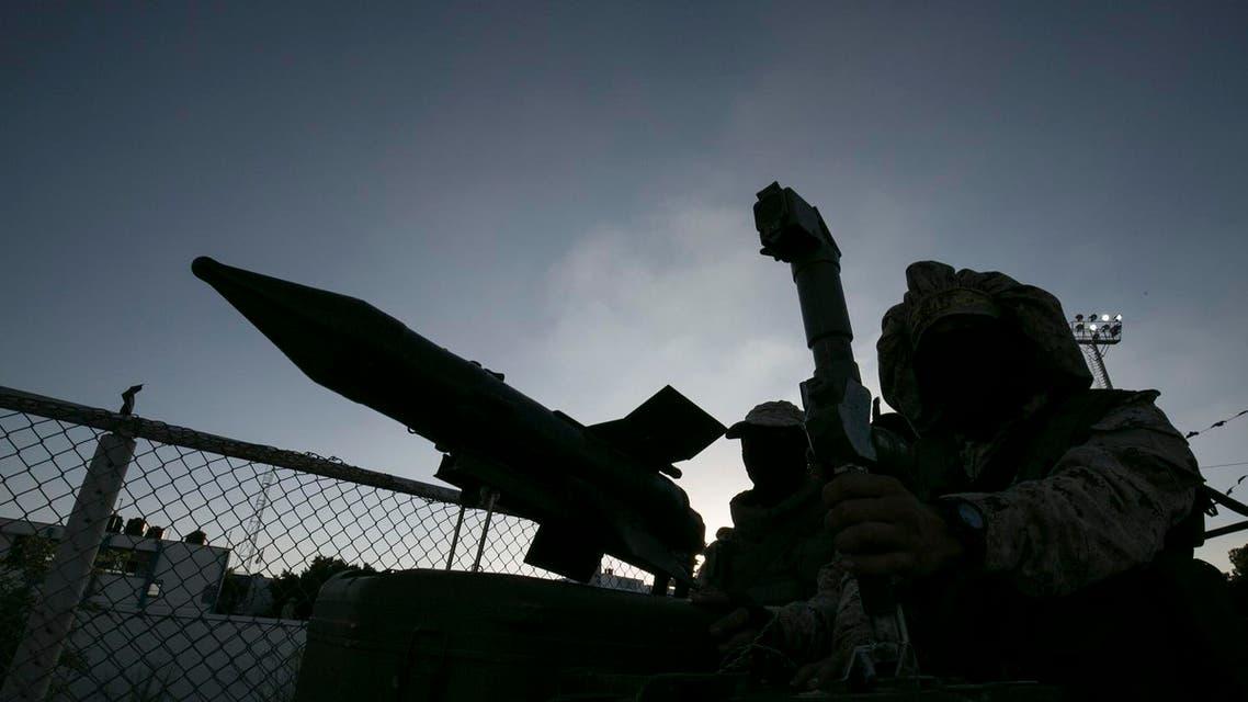 missile palestine afp