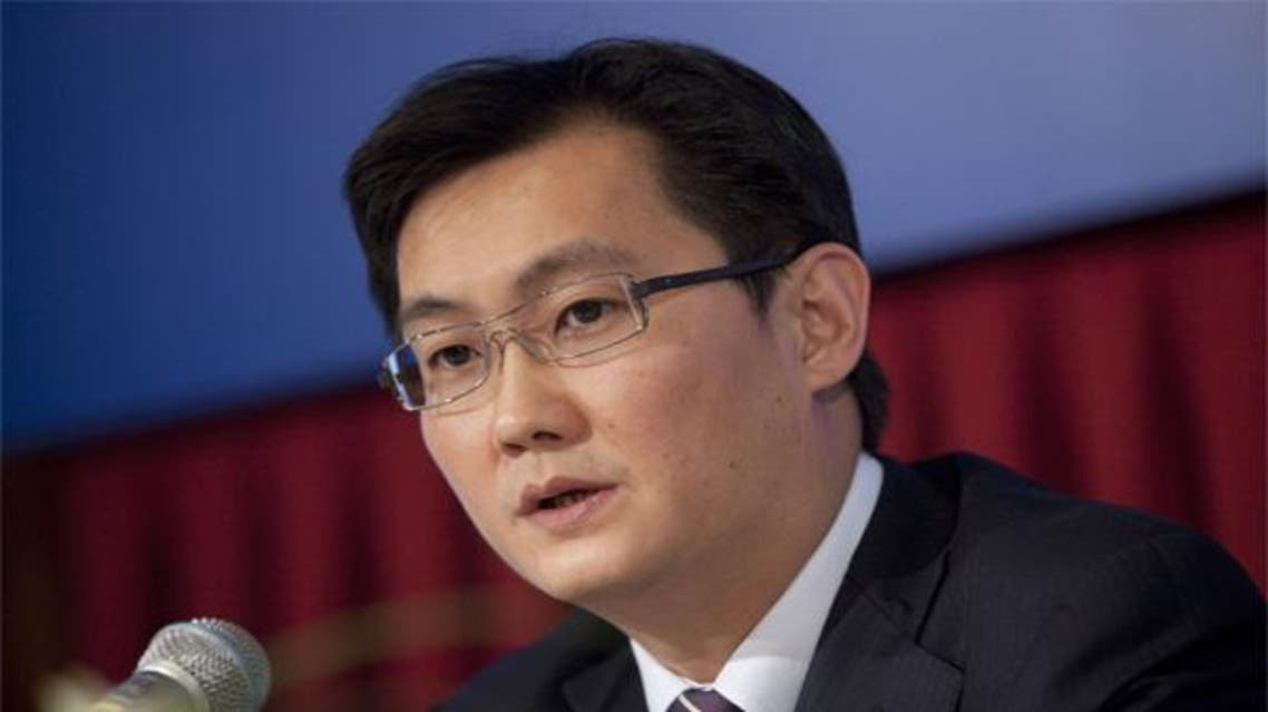 Ma Huateng رئيس شركة Tencent القابضة المتخصصة في خدمات الإنترنت،