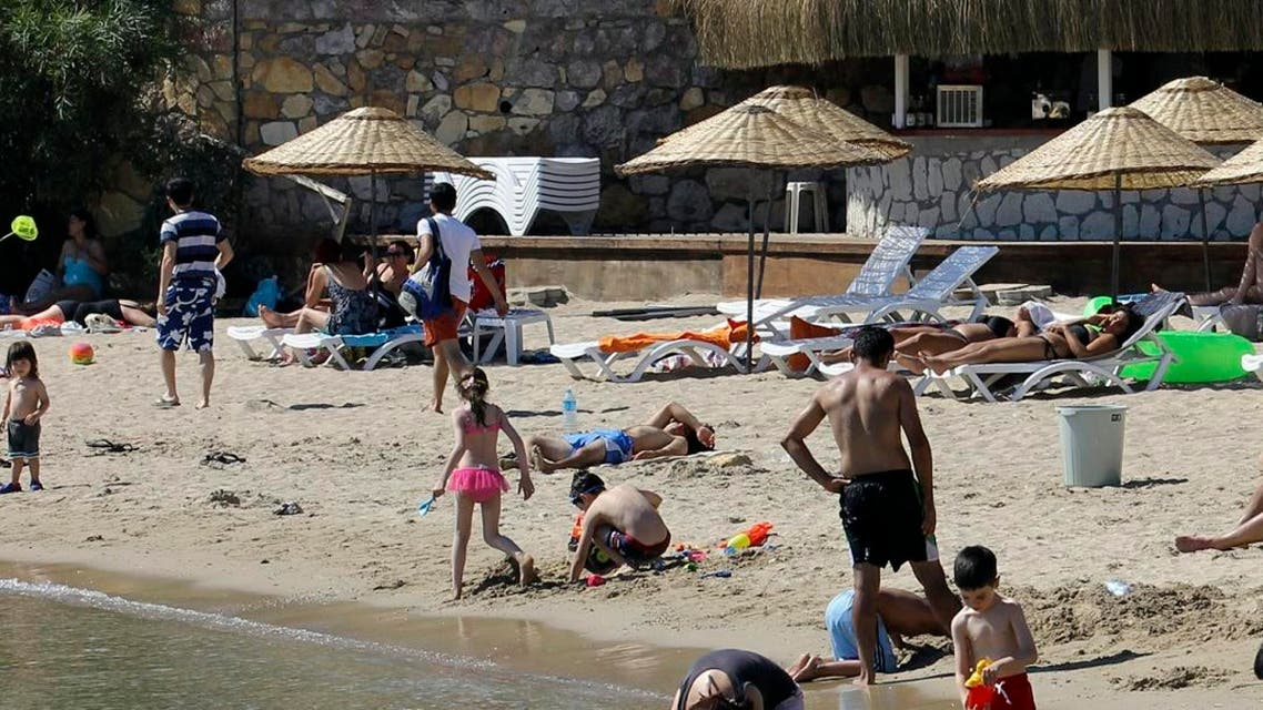 The earthquake occurred 14km southeast of Bodrum, one of the busiest tourist resorts on the Turkish Aegean. (Reuters)