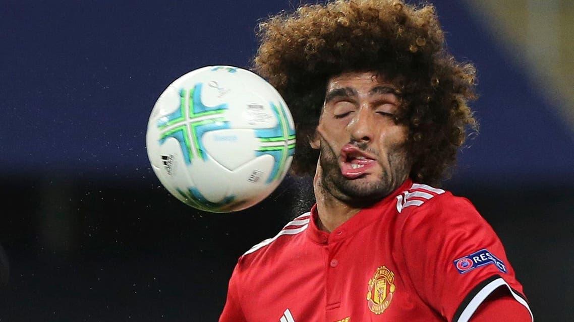 دو تصویر عجیب فلینی بازیکن یونایتد در بازی فینال سوپر جام اروپا