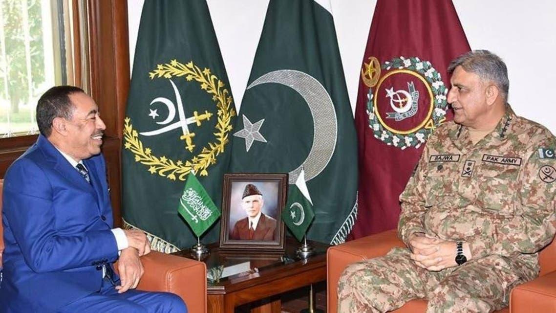 جنرل قمر جاوید باجوہ ، سعودی نائب وزیر دفاع ملاقات