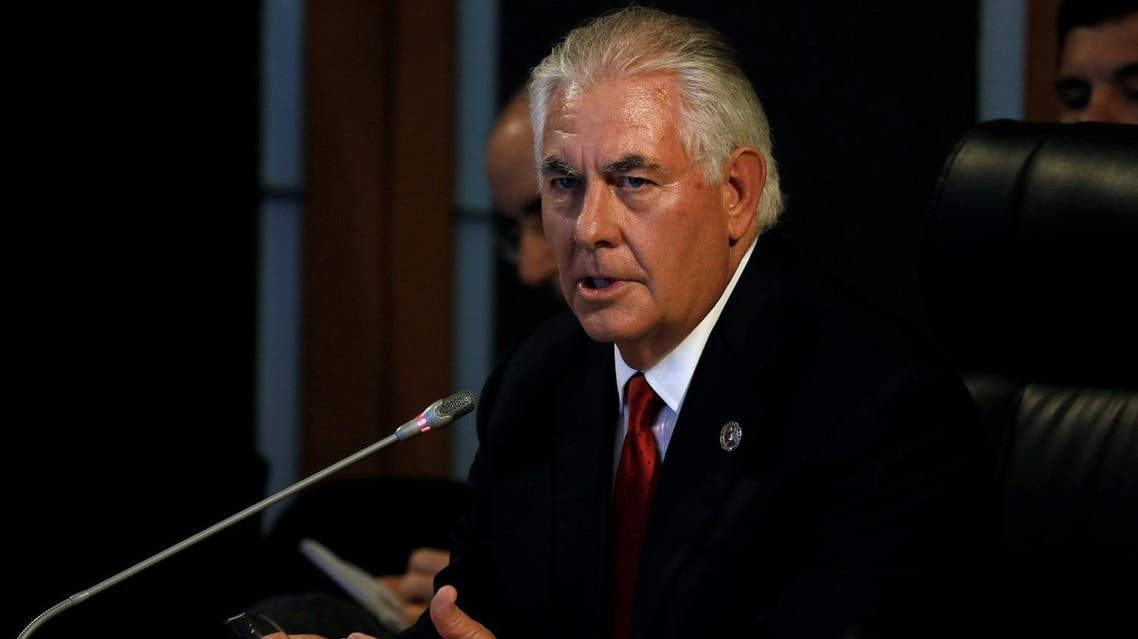 U.S. State Secretary Rex Tillerson gives an opening statement during the ASEAN-U.S. Ministerial meeting of the 50th Association of Southeast Asia Nations (ASEAN) Regional Forum (ARF) in Manila, Philippines August 6, 2017. REUTERS/Erik De Castro