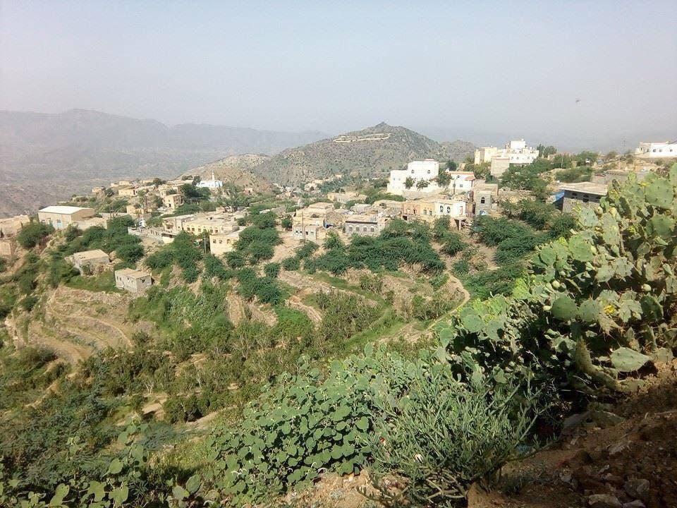 منطقة كعيدنة في حجة شمال غرب اليمن