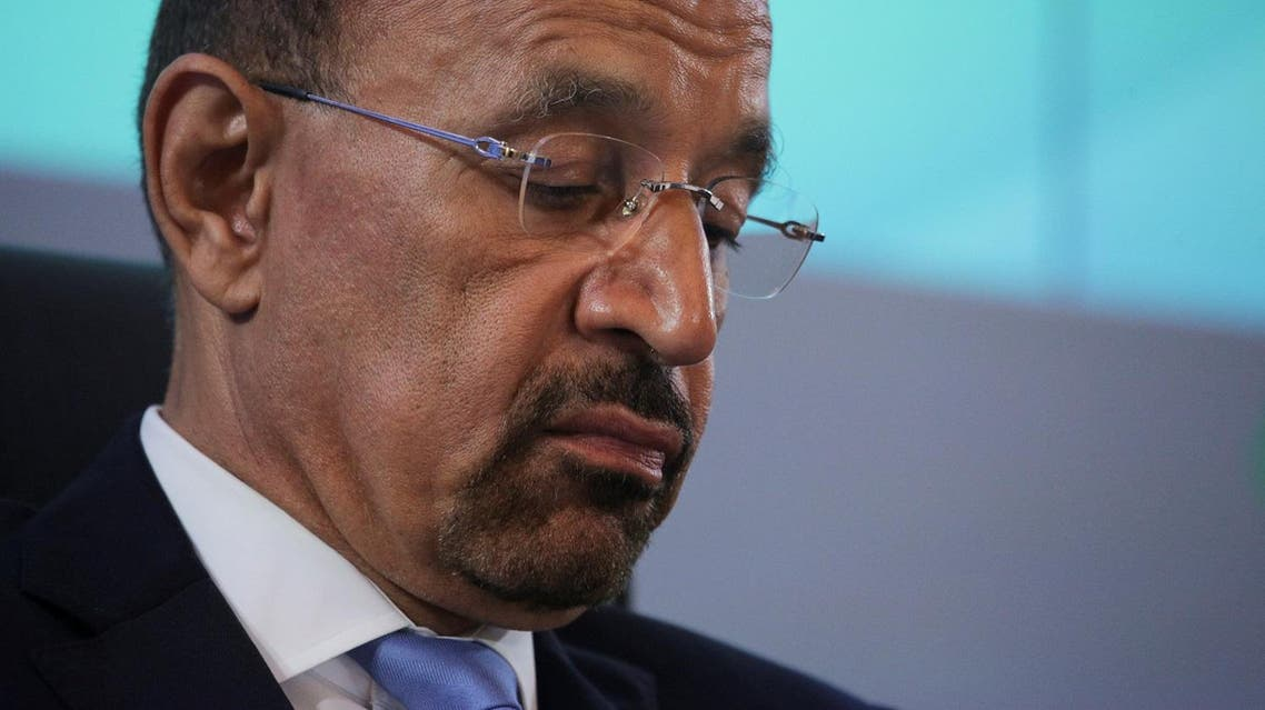 Saudi Arabian Energy Minister Khalid al-Falih attends a meeting of the 4th OPEC-Non-OPEC Ministerial Monitoring Committee in St. Petersburg, Russia, on July 24, 2017. (Reuters)