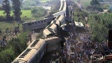 مصر: ٹرینوں میں تصادم سے دسیوں ہلاک اور زخمی