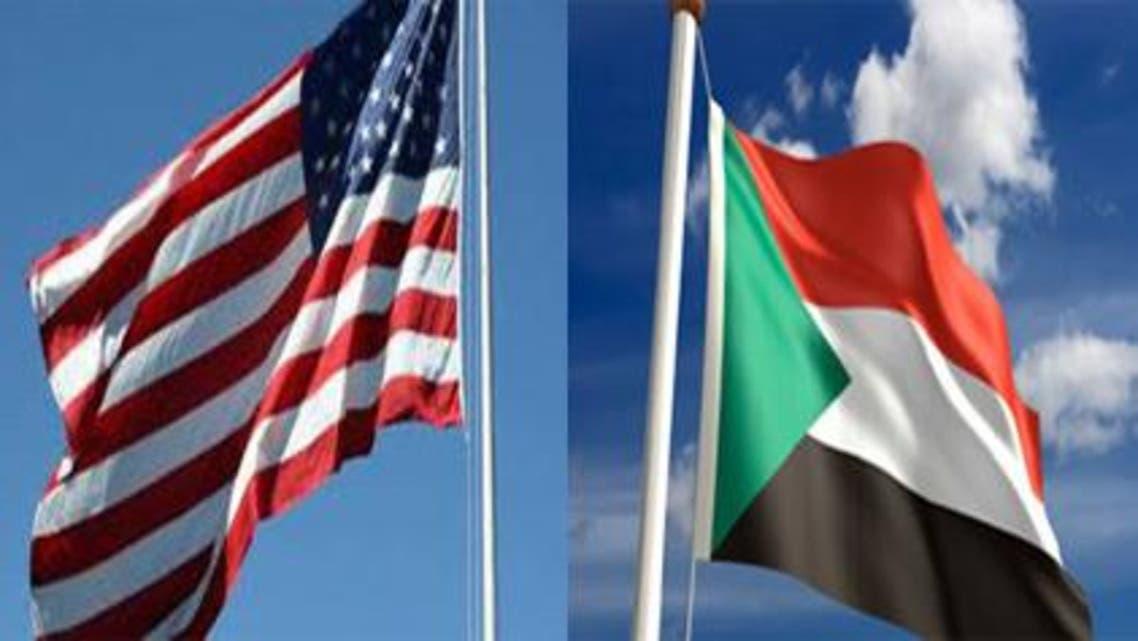 علم السودان أميركا