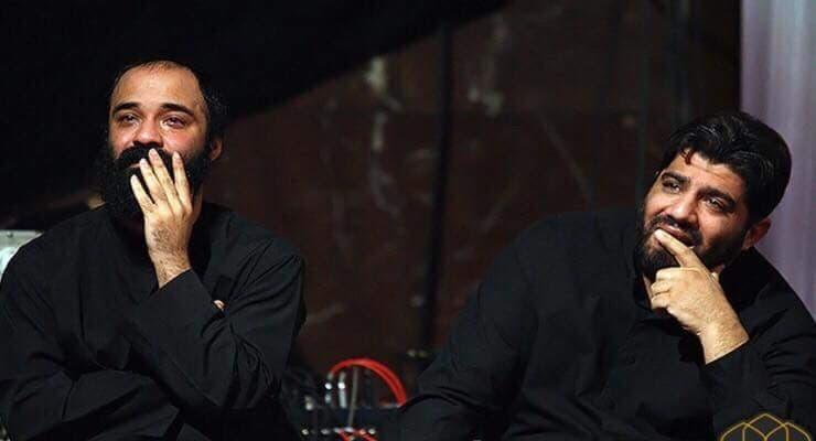 من اليمين: روح الله بهمني وعبدالرضا هلالي