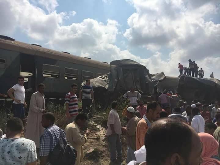 حادث تصادم قطاري الإسكندرية