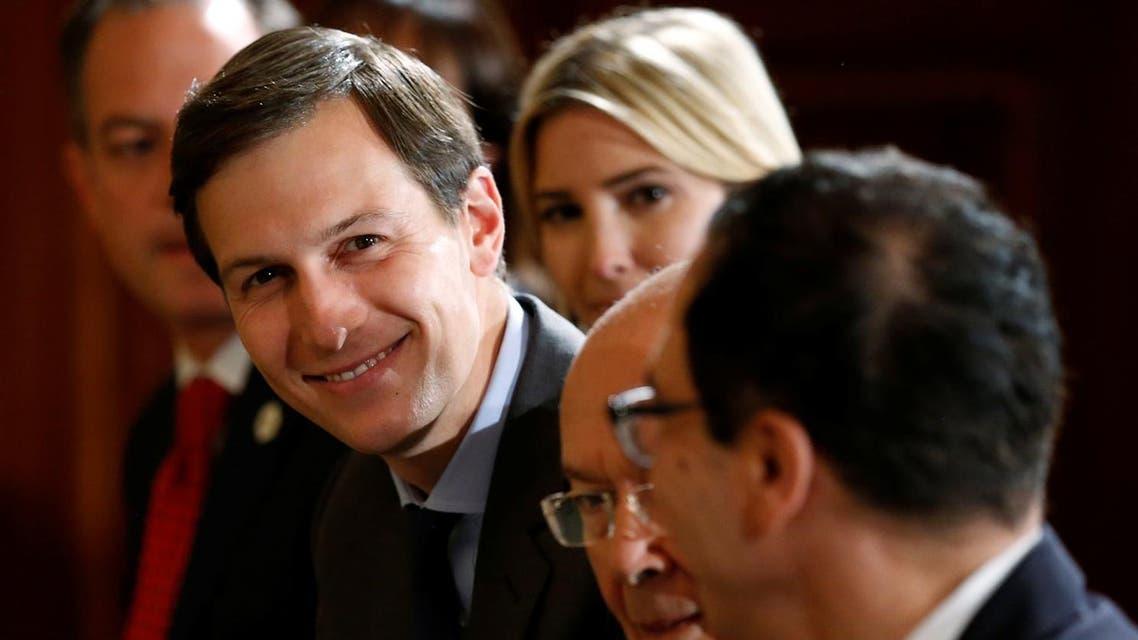 White House senior advisor Jared Kushner (L) (Reuters)