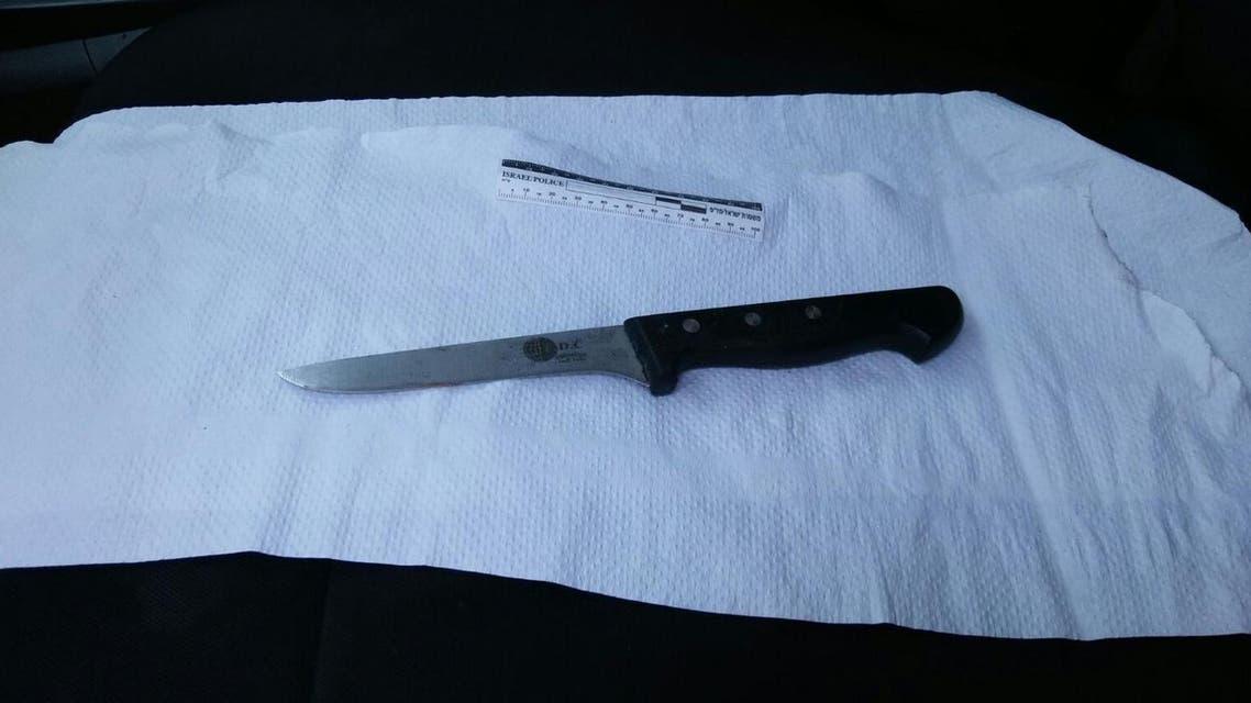 سكين الهجوم في القدس