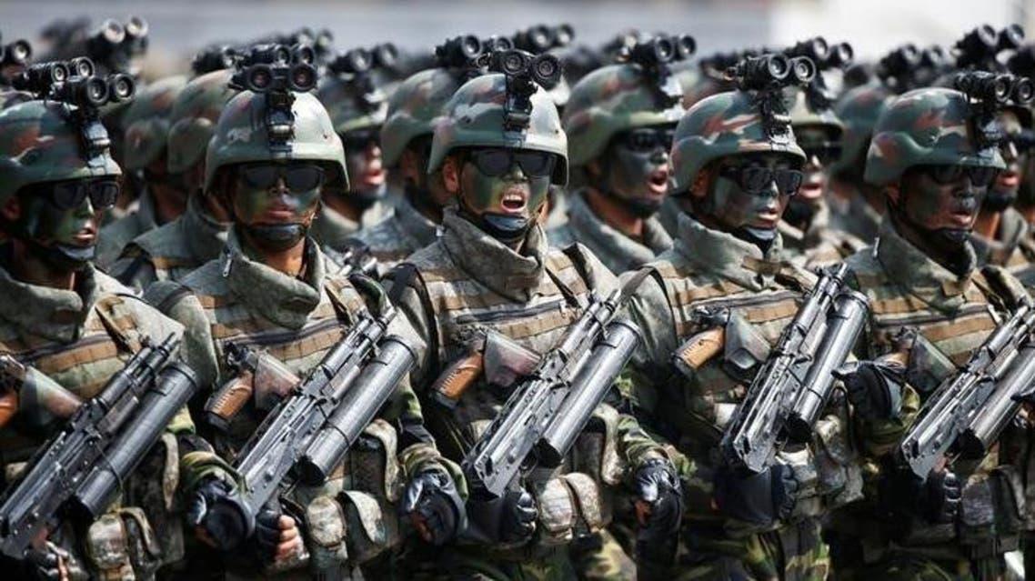 من القوات الخاصة لجيش كوريا الشمالية