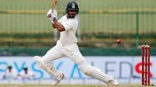 Dhawan hits hundred before Sri Lanka strike back