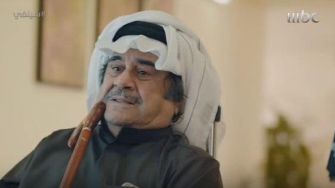 """عبدالحسين عبدالرضا  خلال الجزء الثالث من مسلسل """"سيلفي"""""""