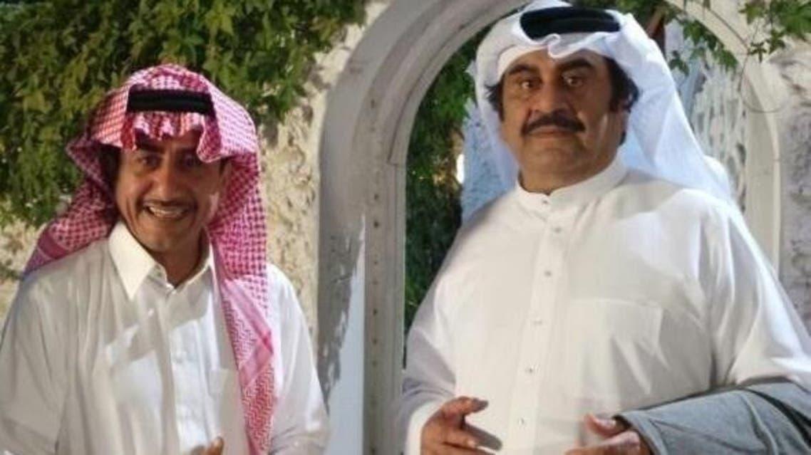 ناصر القصبي وعبدالحسين عبدالرضا