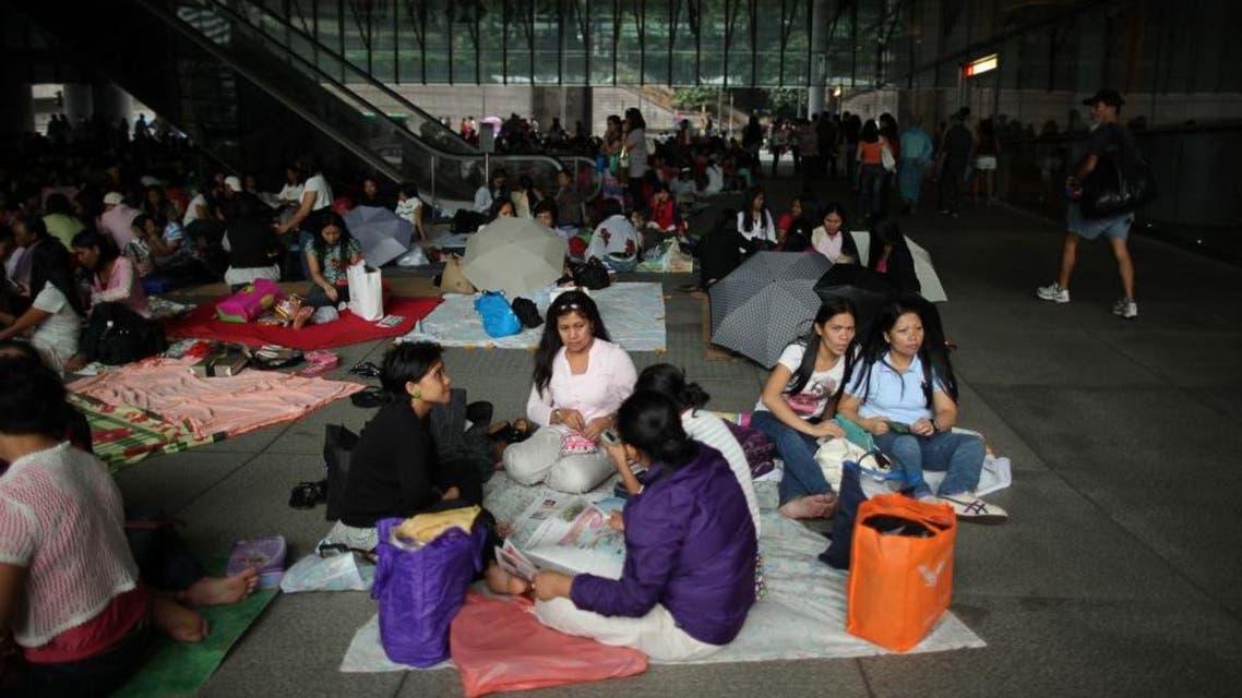 خادمات هونغ كونغ