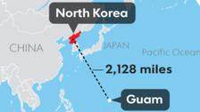 شمالی کوریا کی دھمکی کی زد میں امریکی جزیرہ گوام ؟
