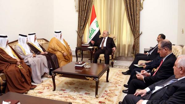 وزير خارجية البحرين: نقف مع العراق في حربه ضد الإرهاب