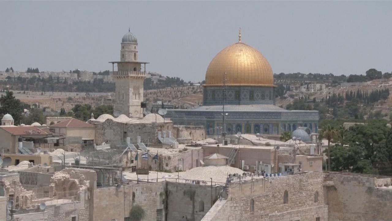 مشهد من مدينة القدس