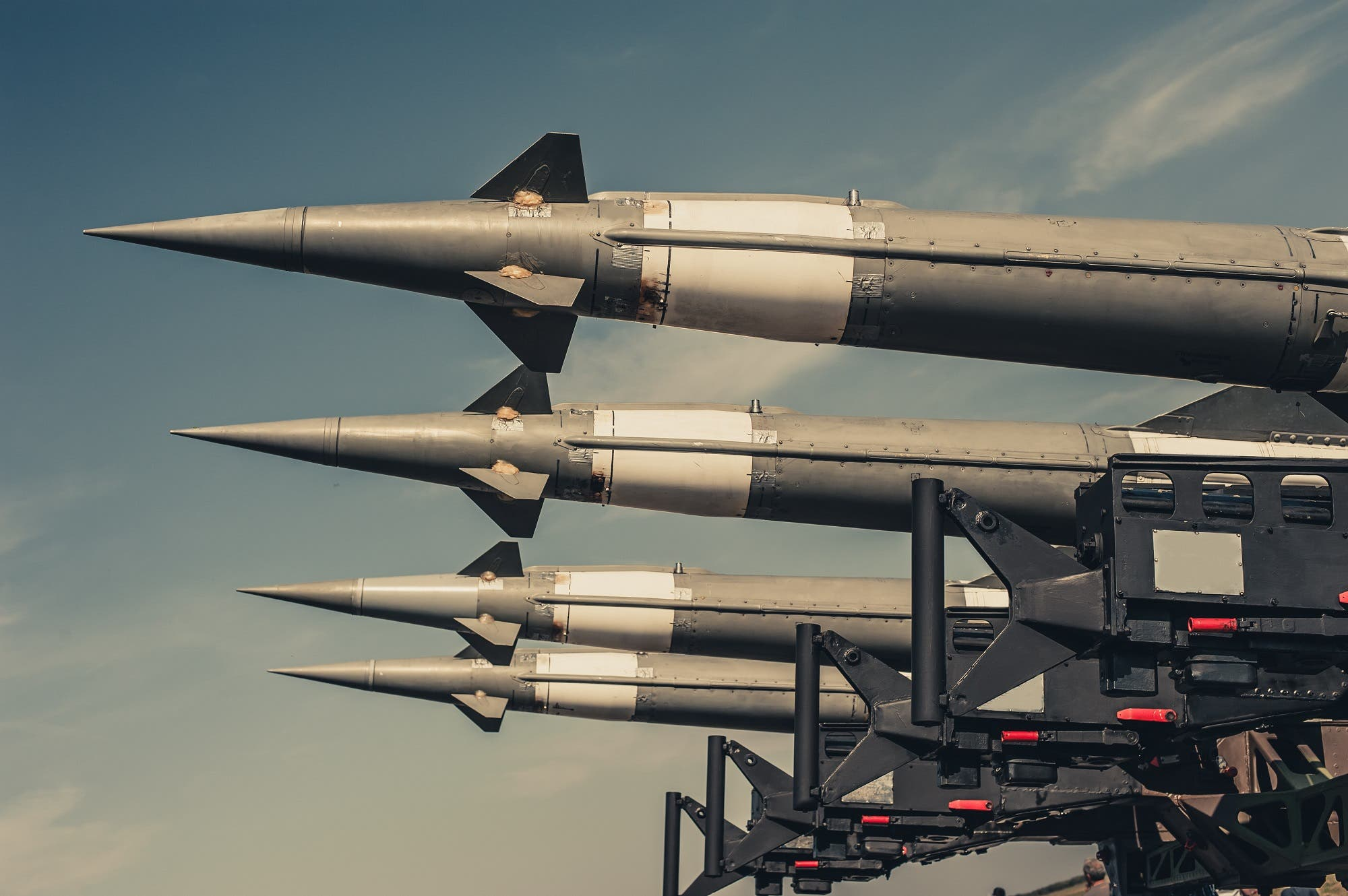In July, the United States imposed sanctions on Iran over its missile program. (Shutterstock)
