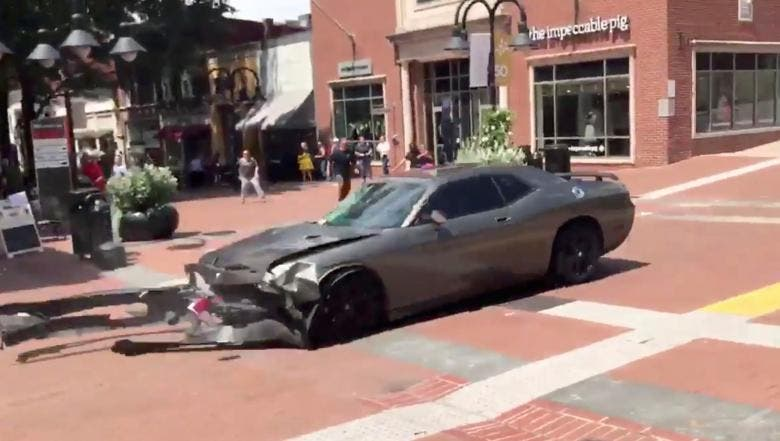 White nationalist rally turns deadly in Charlottesville, Virginia
