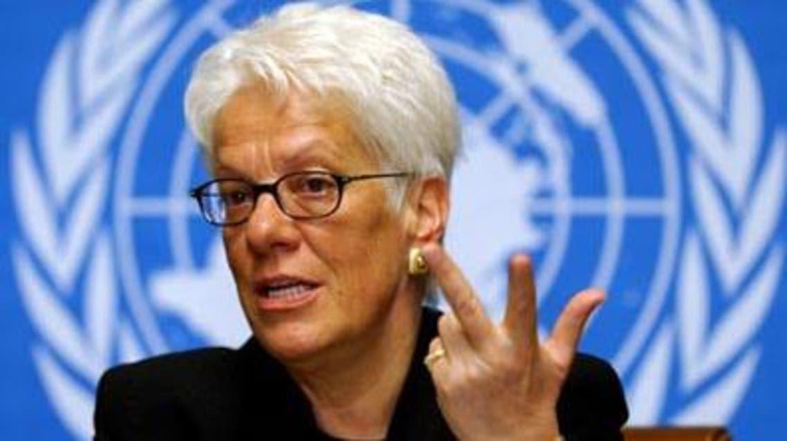 کارلا دل پونته محقق کمیته سازمان ملل متحد برای بررسی جنایات جنگی در سوریه