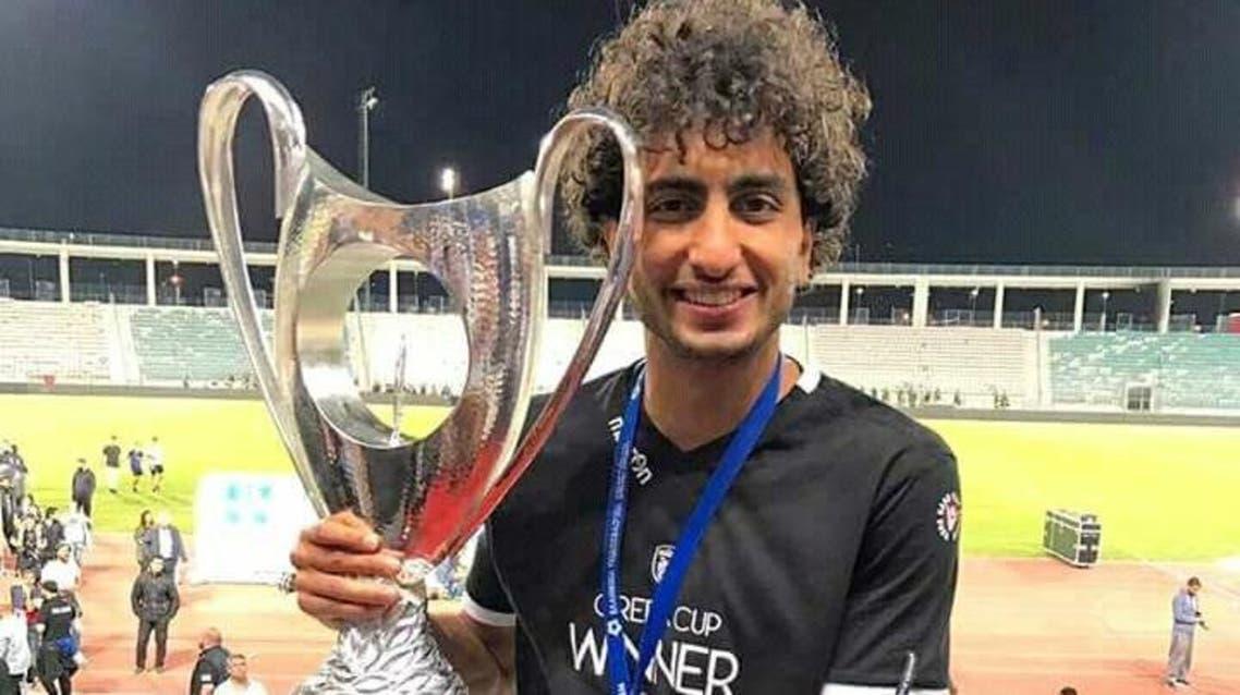 لاعب كرة القدم المصري الدولي عمرو وردة