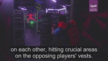 WATCH: Iraq's rich history displayed in a new laser game