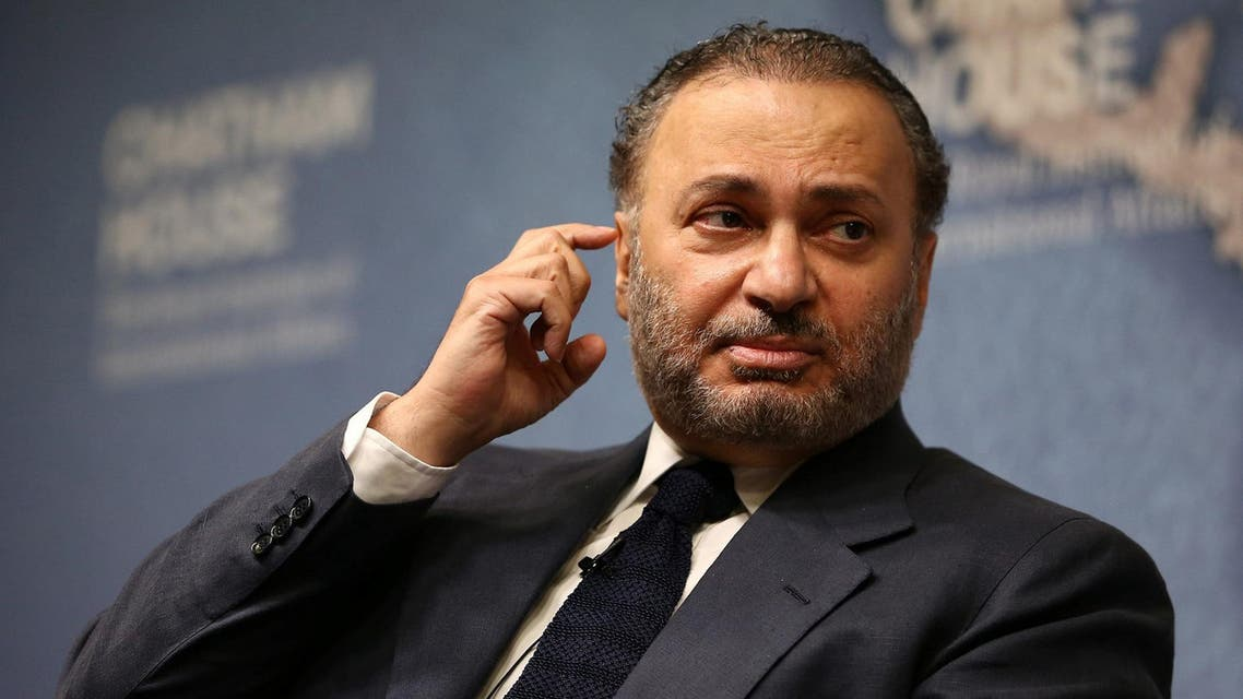 Minister of State for Foreign Affairs for the United Arab Emirates, Anwar Gargash, speaks at an event at Chatham House in London, Britain July 17, 2017. (Reuters)