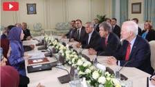 البانیا : امریکی سینئر سینیٹروں کی ایرانی اپوزیشن رہ نما سے ملاقات