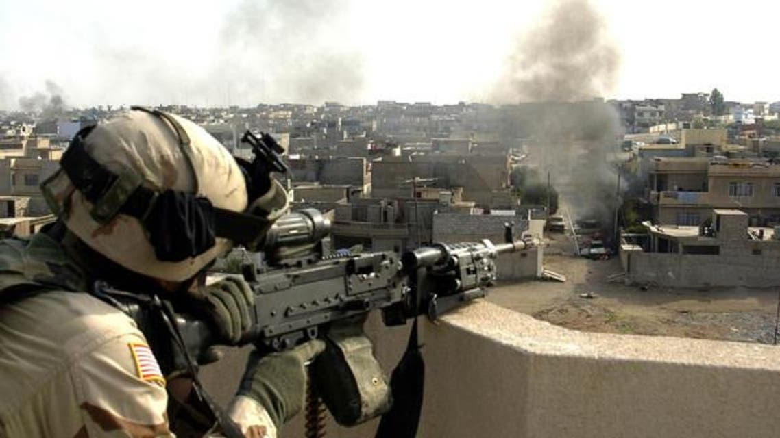 عنصر من الجيش الأميركي في العراق - أرشيفية