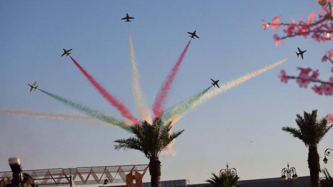 """""""الصقور السعودية"""" تشارك باكستان احتفالات الاستقلال"""