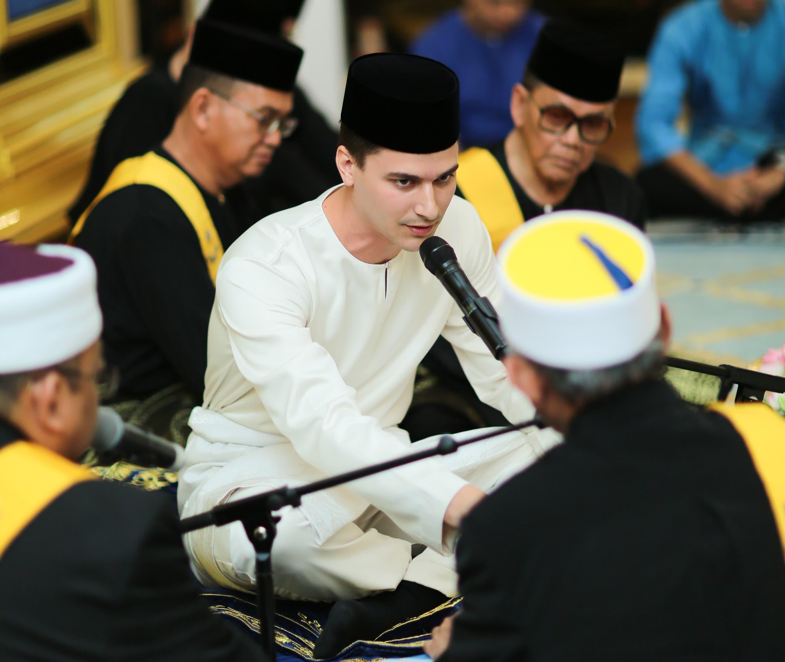 Princess Tunku Tun Aminah Sultan Ibrahim wedding 2. (File photo: AFP)