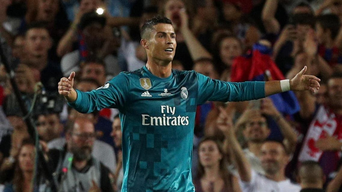 Soccer Football - Barcelona v Real Madrid Spanish Super Cup First Leg - Barcelona, Spain - August 13, 2017 Real Madrid's Cristiano Ronaldo walks off dejected after being sent off REUTERS/Sergio Perez
