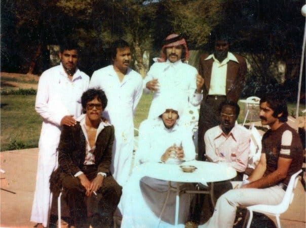 Norodin Lucman with his classmates during his studies at King Abdul Aziz University (Makkah, Saudi Arabia) during a school trip to Khartoum, Sudan, in Nov. 19, 1979. (Supplied)